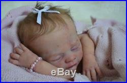 Reborn Baby doll Bennet by Karola Wegerich SiluRCreation