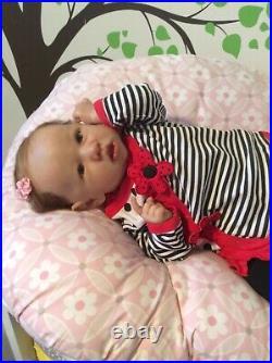Reborn Baby doll, Saskia by Bonnie Brown Painted by Elite-Baby-Nursery