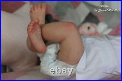 Reborn Baby girl-Willa by Cassie Brace- Reborn artist Sarah Morelle