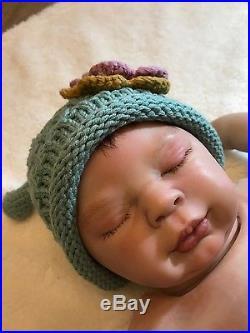 Reborn CHARLOTTE by Denise Pratt ooak baby lifelike vinyl art ARTIST doll