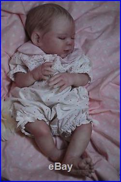 Reborn CUSTOM MADE CHARLOTTE ooak fake baby lifelike vinyl art ARTIST doll