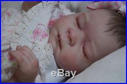 Reborn CUSTOM MADE GENA ooak fake baby life like vinyl art ARTIST Doll