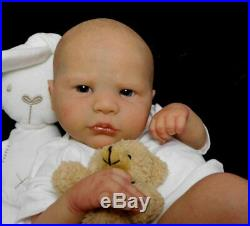 Reborn Collectable Baby doll art Large Newborn Artborn Corvin LE Infant