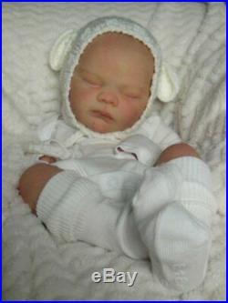 Reborn Collectable Baby doll art Newborn Art Lawson Fake baby