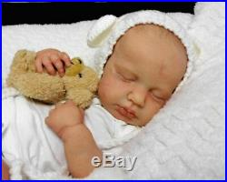 Reborn Collectable Baby doll art Newborn Artborn Lou Lou LE Infant Caspian