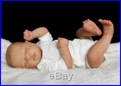 Reborn Collectable Baby doll art Newborn Artborn Oscar Infant Jade