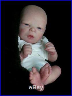 Reborn Collectable Baby doll art Newborn Realborn Darren Awake