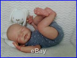 Reborn Collectable Baby doll art Newborn WilsonLucia Stoete Beautiful Boy