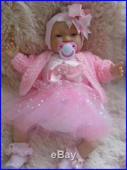 Reborn Doll Annabelle Newborn Life Like Baby Girl Child Friendly