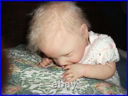 Reborn Doll Ava by Cassie Brace, 19 4 Lbs. 13 Oz, COA