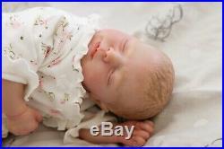 Reborn Doll Baby Girl Realistic Reallife 19 Soft Vinyl Handmade Dolls realborn
