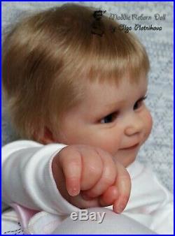 Reborn Doll MADDIE, kit by Bonnie Brown, reborn baby girl