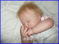 Reborn Doll Realborn 7 Month June Asleep, 25, 8 Lbs. 8 Oz