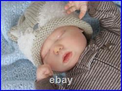 Reborn Doll Realborn Harlow, 20, 4 Lbs. 10 Oz