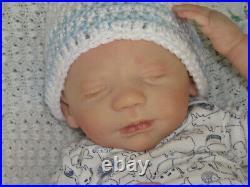 Reborn Doll Realborn Steven Asleep, 19 3 Lbs. 15 Oz, COA