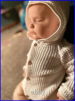 Reborn Doll realborn Joseph 3 month asleep (Used doll)