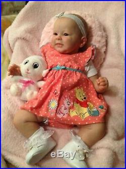 Reborn Greta baby doll by Andrea Arcello