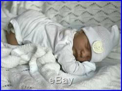 Reborn Levi-Baby Doll-By Bonnie Brown-High Quality-Gorgeous Hair- 3D Skin Effect