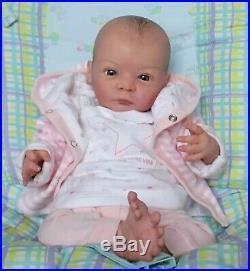 Reborn Lindea Sculpt by Gudrun Legler Baby Doll