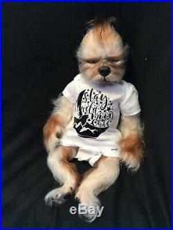 Reborn Lucian Kane by Simon Laurens kit hybrid werewolf werepup baby ooak doll