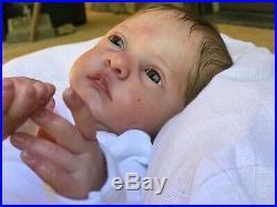 Reborn MALEA Baby Doll-Prototype Artist SEVERINE PIRET- Legler- High Quality
