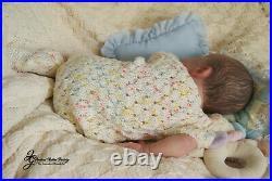 Reborn Newborn Baby Boy Cayle Olga Auer/mimadolls Artistsdollsl. Editioniiora