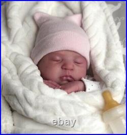 Reborn PROTOTYPE Remi Ashton Newborn Baby, Realistic Doll By Holly Paz Precious