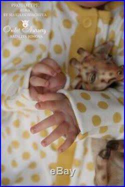 Reborn Prototype Alisa Sculpt by Maria Goriacheva Baby Doll