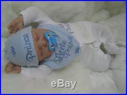 Reborn Real Fake Baby Newborn 22 Prince Jack Or Princess Libby Or Twins