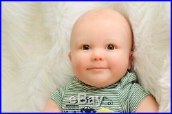 Reborn, Realborn, 25 inch toddler, 7 month June, Awake, baby doll