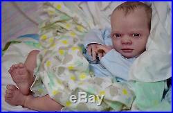 Reborn Realborn Clyde sculpt ooak fake baby life like vinyl art ARTIST doll