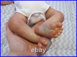 Reborn Realborn Doll 19 Baby Girl Miranda Coa By Dan Sunbeambabies Ghsp