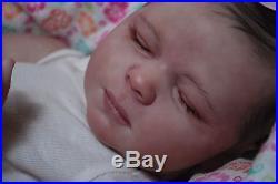 Reborn Realborn Kimberly ooak fake baby lifelike vinyl art ARTIST doll