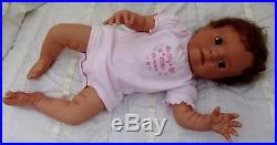 Reborn Realistic Lifelike Real looking Ethnic Newborn baby girl Therapy doll