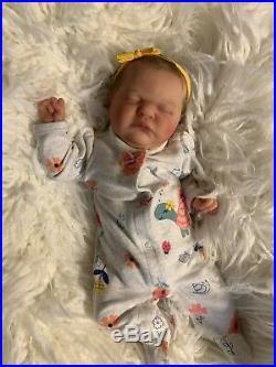 Reborn Romilly Baby Girl Realistic Reborn Doll Lifelike By Cassie Brace