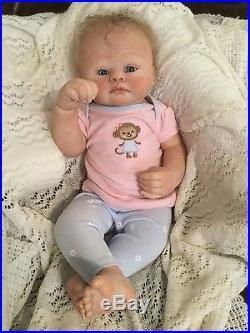 Reborn baby Eden  hand painted realistic vinyl doll