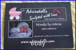 Reborn baby Mindy sculpt by Adrie Stoete