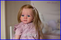 Reborn baby doll Angelina/Fritzi by Karola Wegerich kit reborned by Luba Firsova