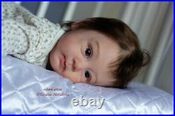 Reborn baby doll Huxley (Huxley by Andrea Arcello)/Artist Tatyana Melnikova