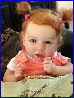 Reborn baby doll Saskia by Bonnie Brown Orange Blossom Nursery