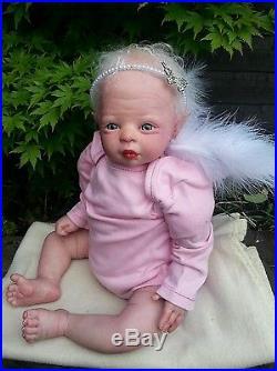 Reborn baby doll Violet fairy beautiful sculpt ltd edition 339/400