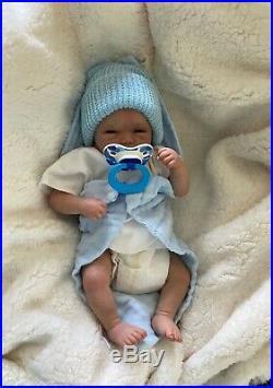 Reborn baby doll-rare micro preemie boy or girl