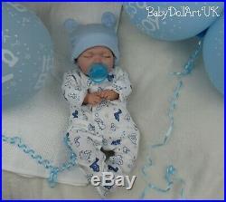 Reborn baby doll sleeping baby boy doll 18 newborn closed eyes