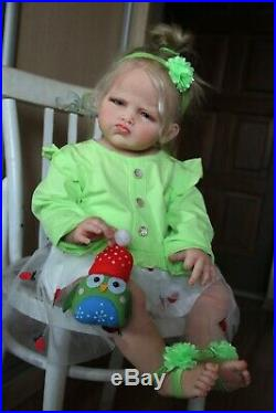 Reborn baby doll toddler Grace by Ping Lau