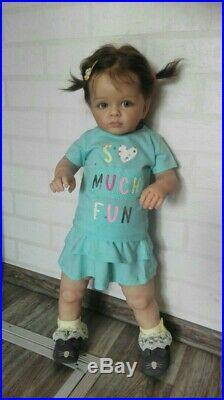 Reborn baby doll toddler Tutti