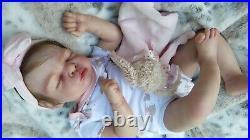 Reborn baby dolls, Dorin by Alicia Toner, baby girl