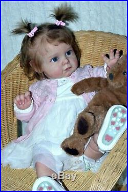 Reborn baby dolls Maggi made from Limited sold out kit Maggi by Natali Blick