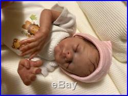 Reborn baby dolls-Momma Lil Monkey by Bonnie Brown