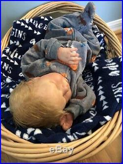 Reborn baby dolls Realborn Macey Asleep Boy
