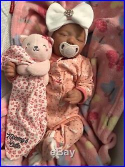 Reborn baby dolls Realborn Zuri Asleep
